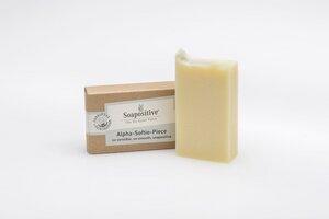 Bio-Gesichtsseife für Allergiker Alpha-Softie-Piece - Soapositive