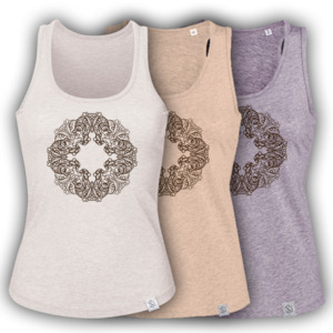 Buddha OWL - Siebdruck Tank-Top W  - Sacred Designs