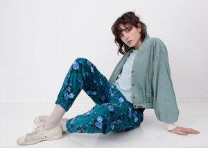 Puffed Sleeve Bomb Cord Damen - Iksi - XXII Streetwear