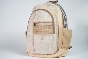 HH Nepal-Rucksack FRANCE STRIPES - Himal Hemp