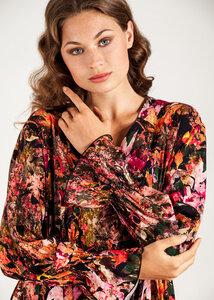 Blumenkleid Viskose Print Sommerkleid - SinWeaver alternative fashion
