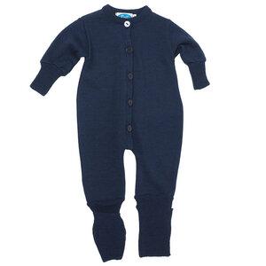 Schlafanzug/Overall Frottee Merinowolle/Seide - Reiff