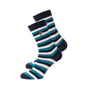 Damen / Herren Ringel Socke - recolution