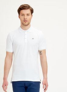 Slim-Fit Poloshirt aus Bio-Baumwolle - ORGANICATION