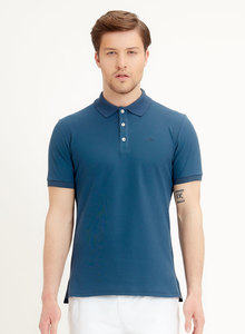 Slim-Fit Poloshirt aus Bio-Baumwolle - ORGANICATION