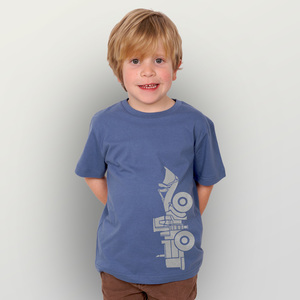"""Radlader 02"" Kinder-T-Shirt  - HANDGEDRUCKT"