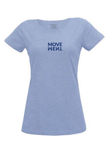 "Damen T-Shirt ""Movement"" - Fairtrade & GOTS zertifiziert - MELAWEAR"