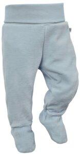 Babyhose mit Fuß, Stramplerhose Nicki 100% Bio-Baumwolle - luftagoon