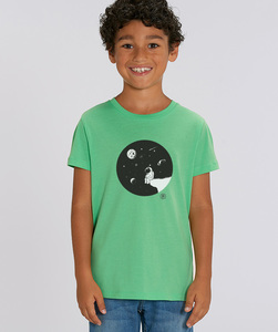 T-Shirt mit Motiv / Moon - Kultgut