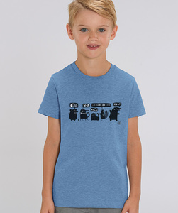 T-Shirt mit Motiv / Animals - Kultgut