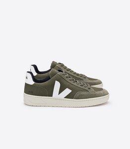 Sneaker Damen - V-12 B-Mesh - Olive White - Veja