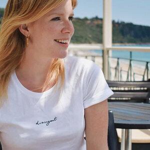 dressgoat - Frauen Shirt - White - dressgoat