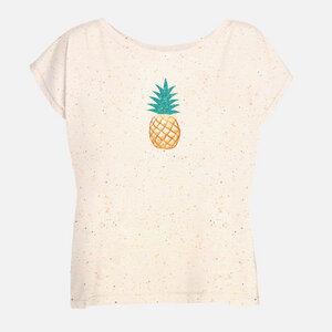 Oversized T-Shirt Float Lifestyle Pineapple - GreenBomb