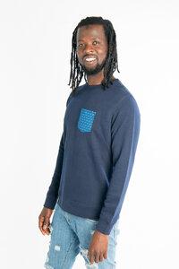 Shwe Shwe Pocket Unisex Sweater - Blau - Maishameanslife