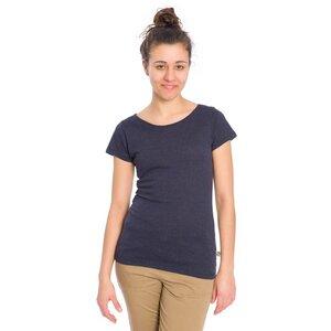 Jacquard Knit T-Shirt Damen - bleed