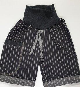 Bermudashorts Jeans längs gestreift  - Omilich