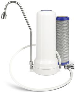 Alvito Auftischfilter Pro STARTSET - Wasserfilter mit Aktivkohlefilter - Alvito