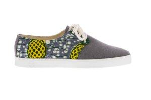 Bunte Sneaker - Zanzibar - Grau - Unisex - PANAFRICA