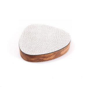 Wood Box mit Deckel / Glasuntersetzer - LindDNA