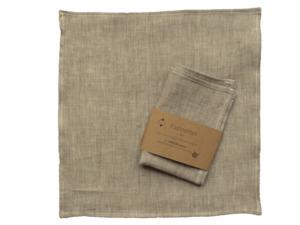 Stofftaschentuch aus Bio Leinen, Fazinettel Flax - Fazinettel