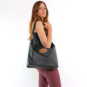 Handtasche Black Bag, vegan - Gary Mash