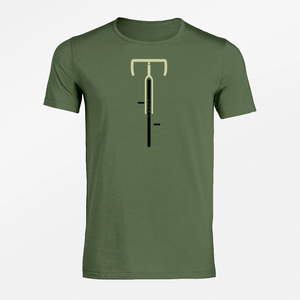 T-Shirt Adores Slub Bike Läuft - GreenBomb