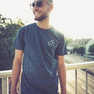 Goaty – Männer Shirt – Dark Denim - dressgoat