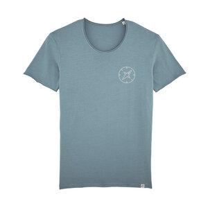 Waypass – Männer Shirt – Washed Blue - dressgoat