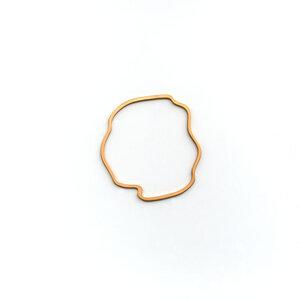 Aoede Armreif - Matt - Goldmarlen