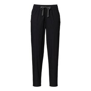 Leichte Hose aus Biobaumwolle, Schwarz - THOKKTHOKK