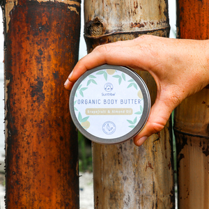 Body Butter GRAPEFRUIT & ALMOND 150ml - Suntribe