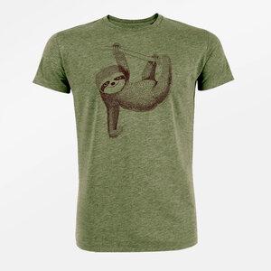 T-Shirt Guide Animal Sloth - GreenBomb