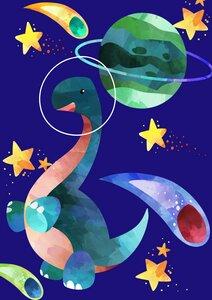 3er Pack Dino-Poster  - Eykaffee
