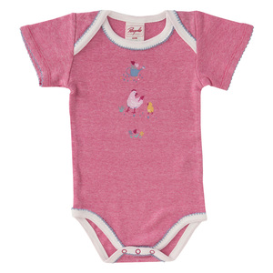 Babybody mit kurzem Arm - People Wear Organic