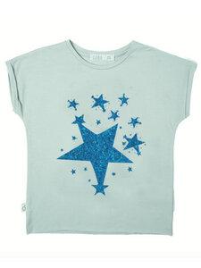 Eukalyptus T-Shirt Laura mit Sternen - CORA happywear