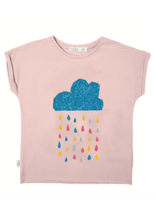 Eukalyptus T-Shirt Laura mit Schwimmbad - CORA happywear
