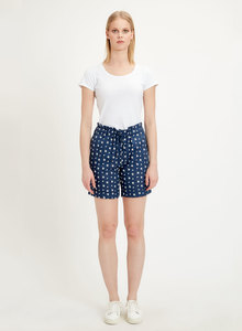 Shorts aus Tencel mit Allover-Print - ORGANICATION