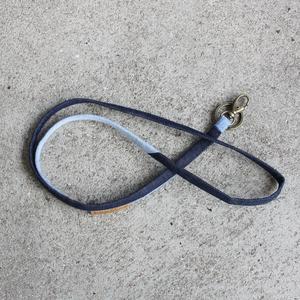 Schlüsselband aus used Denim - Bridge&Tunnel