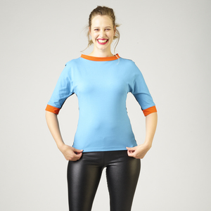 Damen Langarmshirt Kendra - number K
