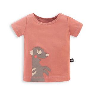 Baby T-Shirt mit Applikation Erdmännchen - internaht
