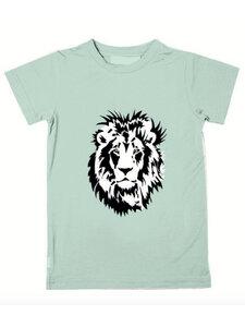 Eukalyptus T-Shirt Ben mit Löwengesicht - CORA happywear