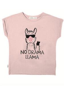 Eukalyptus T-Shirt Laura mit Lama - CORA happywear