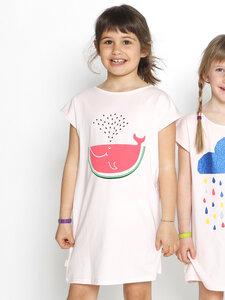 Maxi Eukalyptus T-Shirt Zoe mit Wassermelone - CORA happywear