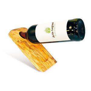 Weinflaschenhalter aus Holz | Untersetzer Leonardo - Mitienda Shop