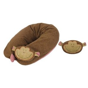 Efie Stillkissen Affe, Inlett gefüllt mit Dinkelspelzen + Wärmekissen - Efie