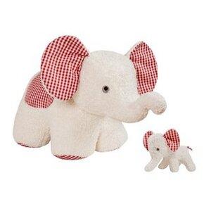 Efie Set Spiel & Kuschel XXL Elefant + Elefant klein weiß - Efie