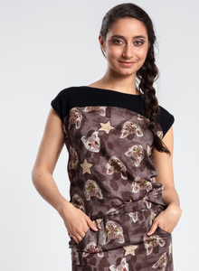 Shirt mit Katzenprint - limitiert! - LASALINA