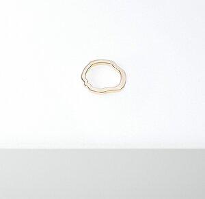 Himalia Ring - Glänzend - Goldmarlen