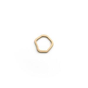 Leda Ring - Matt - Goldmarlen