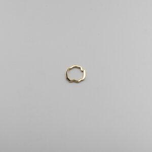 Aoede Ring - Glänzend - Goldmarlen
